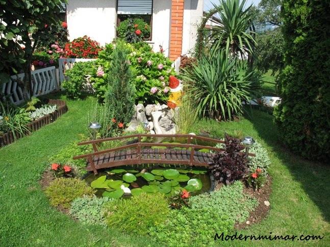 Modern bahçe dekorasyonu önerileri