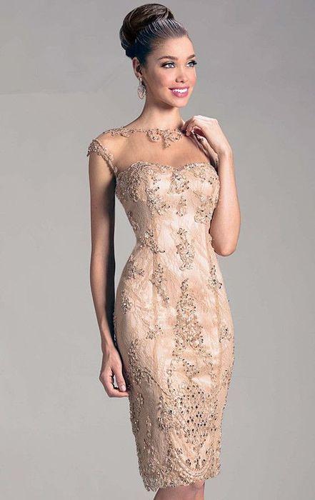 Gold Taşlı Abiye Elbise Modelleri - Kadın Modası ve Trend ...