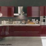 Bordo Mutfak Modelleri ve modası
