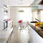 Geniş Açık Mavi Mutfak Modelleri