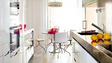 Beyaz Mutfak Dekorasyonu Modası ve  Modelleri