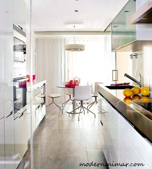 Geniş-mutfaklar-için-Bayaz-Mutfak-Modelleri