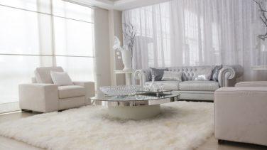 Beyaz salon tasarımları