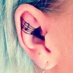 Farklı Kulak Dövmesi Modelleri