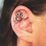 Kulak İçi Dövmesi Modelleri