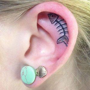 Kulak Dövmesi Modası