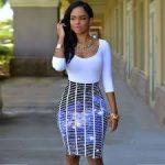 Üç Boyutlu Baskılı Bayan Elbisesi Modelleri