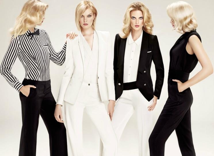 Bayanlarda Yeni Moda Takım Elbise