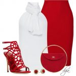 Kırmızı soft giyim