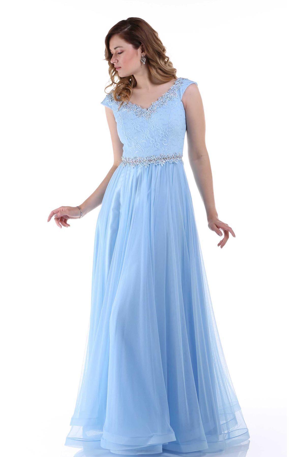 e276f91554c Düğün İçin Taşlı Abiye Elbise Modelleri - Kadın Modası ve Trend Modeller