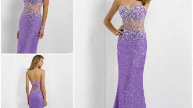 Transparan Abiye Elbise Modelleri